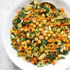 Fall Israeli Couscous Salad   Recipe at SoupAddict.com