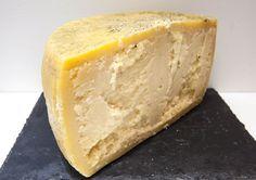 Moliterno al Tartufo, a sheep's milk cheese with truffles from Sardegna, Italy