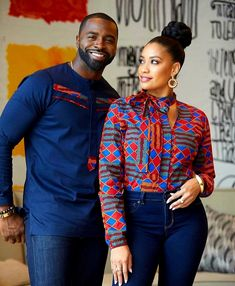 african fashion 2019 Latest Ankara Styles for Couples Couples African Outfits, African Dresses Men, African Blouses, African Tops, African Clothing For Men, African Fashion Ankara, African Shirts, Latest African Fashion Dresses, African Wear