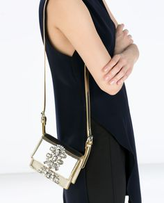 Image 5 of JEWELLED CROSS-BODY BAG from Zara