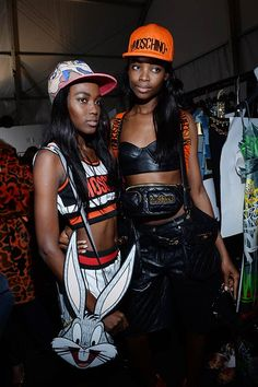 Moschino Fall/Winter 2015/16 backstage - See more on www.moschino.com