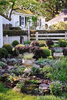 Captivating Connecticut Garden - Traditional Home