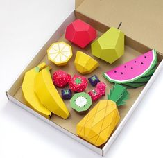 Play Fruit by Mr Printables Lets People Create Their Own Fruit Decor #DIY #paperproducts trendhunter.com