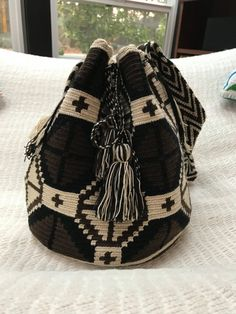 Etsy の Wayuu Mochila by WayuuMochilaArt
