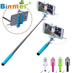Hot-sale BINMER Selfie Sticks Gifts 15-50cm Handheld Extendable Stick Tripod Monopod Stick For iPhone & 4.2 Android Phone