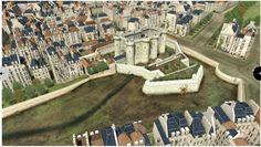 Reconstitution en 3 D. La Bastille.