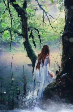 Relax and enjoy the tranquillity of the enchanted lake images videos Enchanted lake animation I made Beautiful Fantasy Art, Beautiful Gif, Beautiful Women Videos, Beautiful Angels Pictures, Enchanted Lake, Animated Love Images, Fantasy Magic, Really Cool Drawings, Beautiful Girl Image