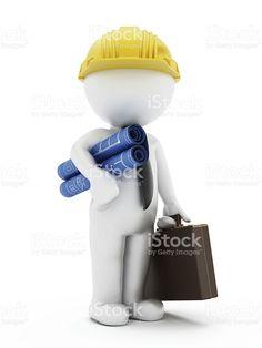 Civil engineer royalty-free stock photo