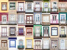 Ventanas, Guimarães, Portugal.