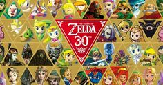 The Legend of Zelda 30th Anniversary Banner