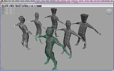 WiP human low-poly by CarlesTenorio.deviantart.com on @DeviantArt