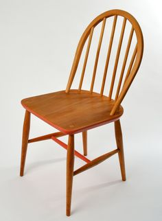 Restored and painted Ercol hoop-back chairs by RestoredbyLiat