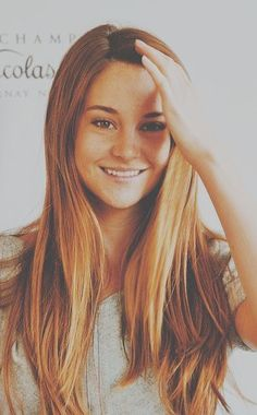shailene woodley - she has a great way of showing people how great it is to just be natural