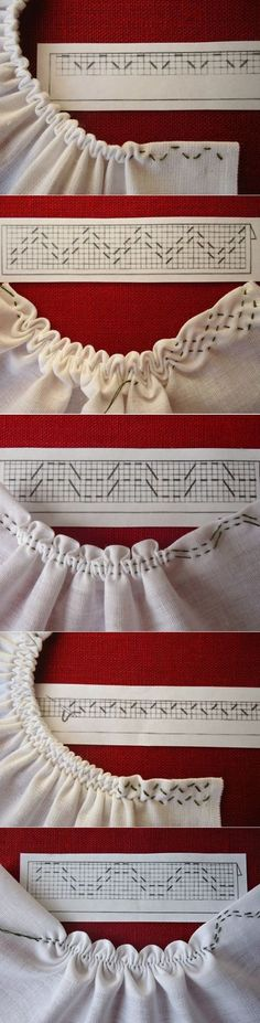 Sewing tutorials clothes dress costura ideas for 2019 Smocking Patterns, Sewing Patterns, Smocking Tutorial, Knitting Patterns, Crochet Patterns, Stitch Patterns, Dress Patterns, Shirt Tutorial, Fashion Patterns