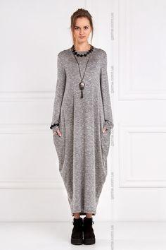 Платье оверсайз Dalila. Платья. Цвет: серый. #3030040