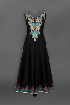 Black Anarkali Suit