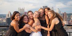 mt. washington photography. pittsburgh wedding photography. bridesmaids. » Melanie Grady Photography
