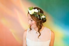 San Diego Wedding #luceloft #bridalstyle #colorfulbride #florals
