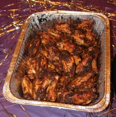 Chicken wings cajun