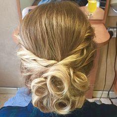 Hair up curls & braid georgia@jadeshairandbeauty