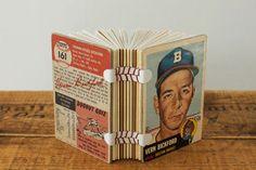 baseball card book