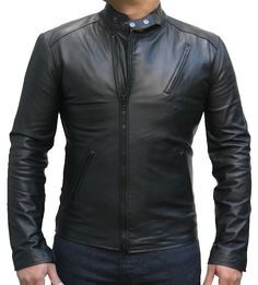 Iron Man Movie Replica high quality 100% Real Leather Jackets