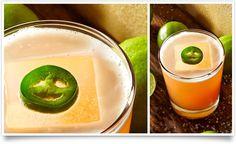 Leap of Faith 1 ½ parts Tanteo® Jalapeño Tequila 2 parts fresh Ruby Red™ grapefruit juice ½ part fresh lime juice ½ part agave nectar