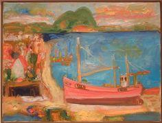 'Portseton Voyager' Oil on Canvas.