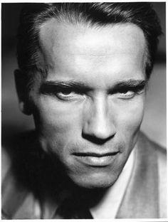 Arnold Schwarzenegger by John Stoddart.