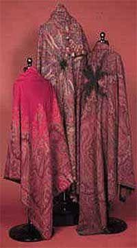 shawls 1850s