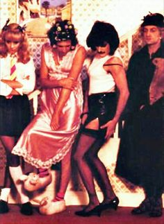 Queen - I Want To Break Free. Is there actually a picture more perfect than this one? Because I highly doubt it.