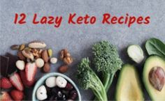 These 12 fast and easy lazy keto meals will have dinner on the table in 30 minutes or less. Save time with these delicious keto recipes are so easy to make. Try one today! Low Carb Dinner Recipes, Keto Dinner, Keto Recipes, Cooking Recipes, Healthy Recipes, Freezer Cooking, Vegetarian Cooking, Low Carb Coleslaw, Diet Food List