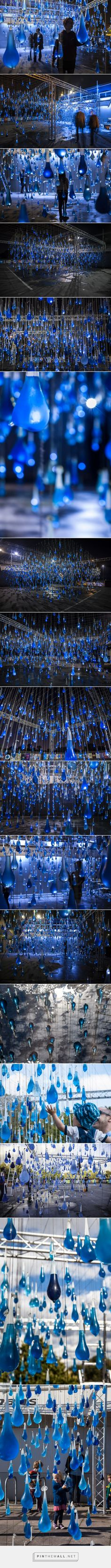 Rain Interactive Installation by Luzinterruptus — urdesignmag... - a grouped images picture - Pin Them All