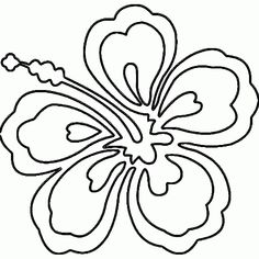 Hawaiian Coloring Pages Hawaii Flower Page Az Regarding Lei With Regard To Your