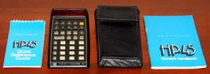 https://flic.kr/p/DWaZ3N   Vintage Hewlett-Packard Model HP-45 Advanced Scientific Pocket Calculator, HP's Third Handheld Electronic Calculator, Introduced in 1973 and Discontinued in 1976