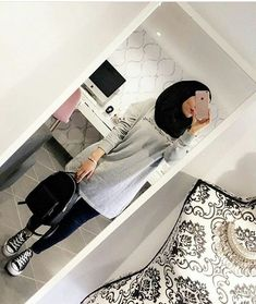 ɪᴛ's ᴛʜᴇ ʟɪᴛᴛʟᴇ ᴛʜɪɴɢs ᴛʜᴀᴛ ᴍᴀᴛᴛᴇʀ - Another! Modest Fashion Hijab, Modern Hijab Fashion, Street Hijab Fashion, Tokyo Street Fashion, Casual Hijab Outfit, Arab Fashion, Hijab Fashion Inspiration, Hijab Chic, Hijab Dress