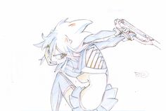 And the fight sequence from the previous Kill la Kill scans, now animated!