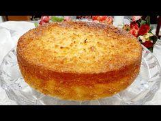 Πίτα καρύδας! Πολύ εύκολο, απλό, γρήγορο και νόστιμο. Χωρίς γλουτένη! - YouTube Apple Desserts, No Bake Desserts, Easy Desserts, Food Cakes, Dessert Cups, Exotic Food, Portuguese Recipes, Sans Gluten, Gluten Free