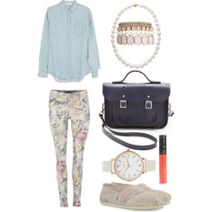 """Floral 2"" by farrah-nihad on Polyvore"