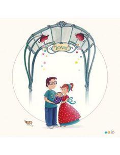"Carte d'Art ""Paris, Metro Love"""