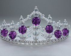 Fiesta de cumpleaños de Princesa Tiara artesanal  Tiaras DIY