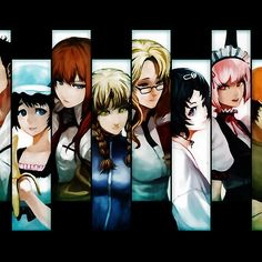 Steins Gate ; Available as Cards, Prints, Posters, T-Shirts & Hoodies, Kids Clothes, iPhone & iPod Cases, and iPad Cases