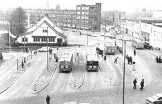 Jongkindstraat met restaurant Old Dutch  1950