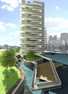 Vertical Network: Olympic Resilience Housing | Diana Gonong | Archinect