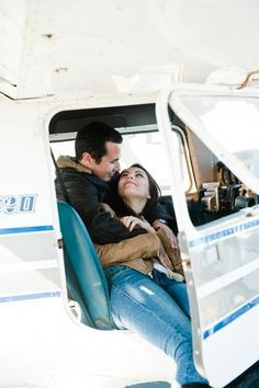 Because let's be real...we all know Blythe and I will have to do something with an airplane. Thinking airport engagement photos :)