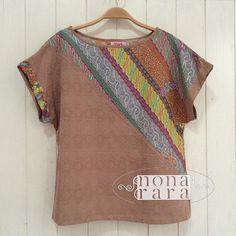 B140608 - IDR175.000 Bustline : Free Size ( Fit To L ) Fabric : Batik Dobi Solo