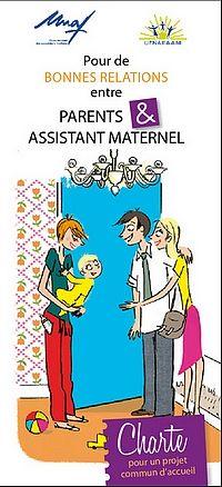 Cette charte est un outil de dialogue et de réflexion entre les parents et l'assistant maternel. Il permet d'aborder les aspects concrets de l'accueil du jeune enfant chez l'assistant maternel et d'assurer une meilleure compréhension entre les différentes parties.