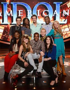 American Idol 2013 Top 10 Contestants