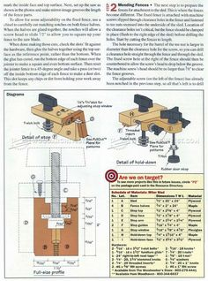 #1473 Table Saw Miter Sled Plans - Table Saw