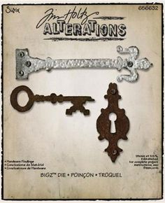 Sizzix - Tim Holtz - Bigz Die - Alterations Collection - Die Cutting Template - Hardware Findings at Scrapbook.com $16.99